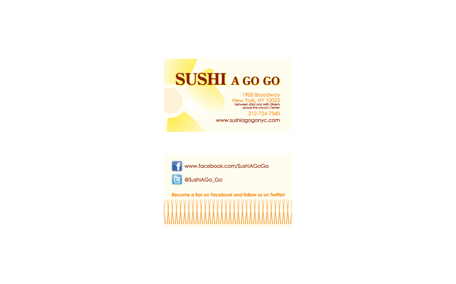 Logos and stationery psilao for Go business cards