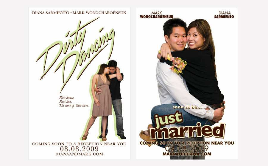 Movie Poster Wedding Invitation dinosauriensinfo